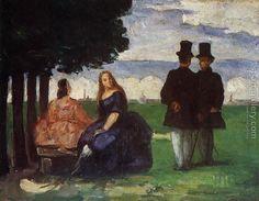 Promenade Paul Cezanne Reproduction | 1st Art Gallery