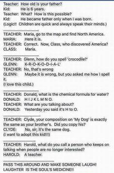 Funny kids!