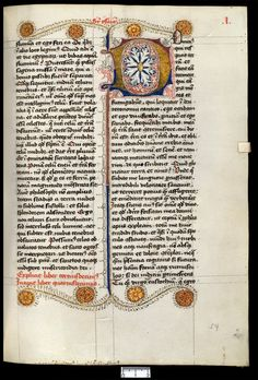 Illuminated manuscript in the collection of Utrecht University Library, The Netherlands.