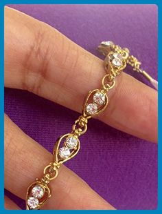 Rhinestone Bridal Headpiece | Crystal Headband | Bridal Headband | Wedding Hairpiece | Wedding Hair Tiara | gold tone by Custom Jewelry hair - Bridal hair accessories (*Amazon Partner-Link)