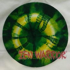 Green & Yellow Zen Warrior Hand-Dyed Wool Beret, perfect for Packers fans!!! Only $18 plus shipping!!! Available at zenwarrior.com