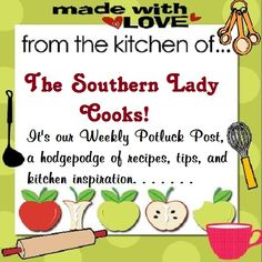 Weekly Pot Luck - This week is all about Easter and Easter recipes, tips, quotes, etc.