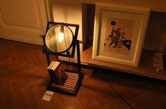 Agatha strainer lamp by Palier Design