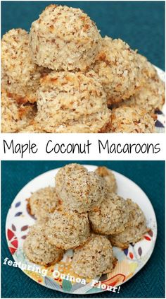Gluten-free, soy-free, dairy-free, egg-free, and nut-free coconut macaroons the whole family will love!