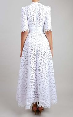 Blue Midi Dress, White Maxi Dresses, Casual Dresses, Fashion Dresses, Summer Dresses, Lace Outfit, Lace Dress, Outfits In Weiss, Couture Fashion