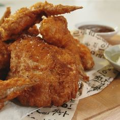 Try this Ultimate Korean Fried Chicken and Pickled Radish Cubes recipe by Chef Judy Joo. This recipe is from the show Korean Food Made Simple.