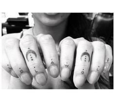 Zoe Kravitz's New Tiny Tattoos Will Make You Want One via Brit + Co.