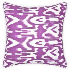 cushion from zara home Zara Home Cushions, Color Dash, Colour, Barbie Dream House, Ikat Fabric, Soft Furnishings, Interior Inspiration, Throw Pillows, Handmade