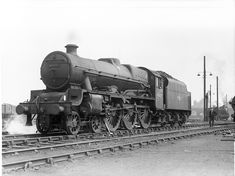 The crew of 45666 Cornwallis kindly suspend operations for a few seconds whilst being photographed at Willesden shed in May 1963. The Jubilee had just arrived on shed having brought a fitted freight south from Crewe.