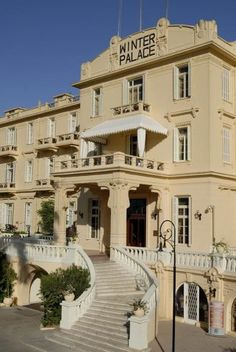 Santa Claus Travel Egypt  Winter Palace Hotel at Luxor, Egypt..book your hotel now & enjoy your vacation :)  Contact us now: info@santaclaustravel.com