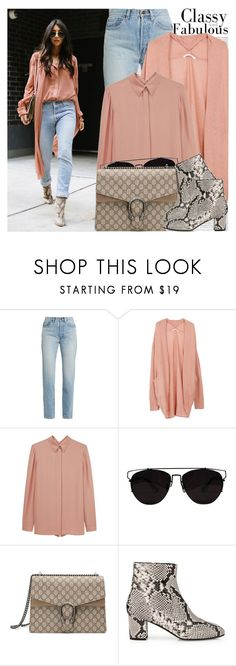 """2422. Street Style"" by chocolatepumma ❤ liked on Polyvore featuring Oris, Yves Saint Laurent, Cacharel, Gucci, L.K.Bennett, StreetStyle, urban and edgy"