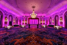 Our elegant ballrooms can accommodate up to 360 guests for seated dinners or 450 guests for receptions.