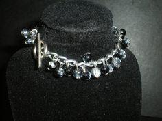 Black Ice Bracelet https://www.etsy.com/uk/listing/201426024/black-ice-bracelet?ref=pr_faveshops