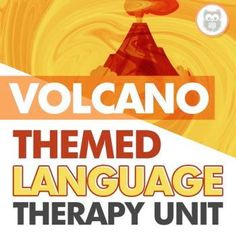 This themed language therapy unit includes a wide variety of materials and resources for your students with language goals using a fun and engaging VOLCANO theme! A perfect way to shake up your speech therapy sessions and make them more fun and engaging for your speech therapy students. Receptive Language, Speech And Language, Speech Therapy Activities, Language Activities, Figurative Language Activity, Lesson Plans, Volcano, Shake, The Unit
