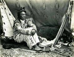 Blackfoot man