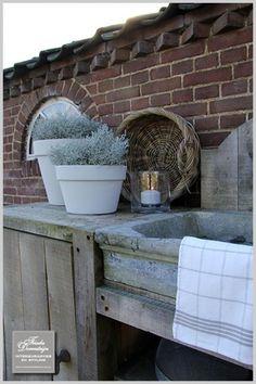 Potting sink -  Buitenkeuken
