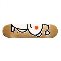 Reddit Alien Custom Skate Board