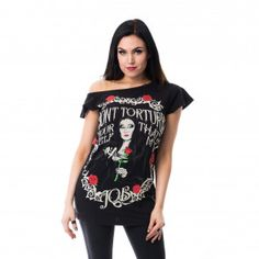 Torture Off Shoulder Top from Heartless
