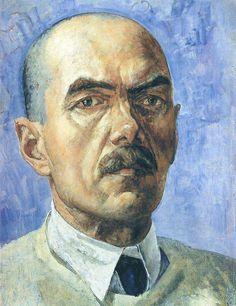 Kuzma Petrov-Vodkin. A Self-Portrait 1929