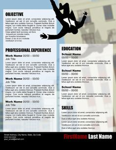 """""""Advertise"""" Resume Template"""