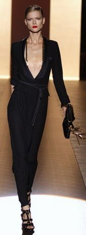 Gucci black jumpsuit