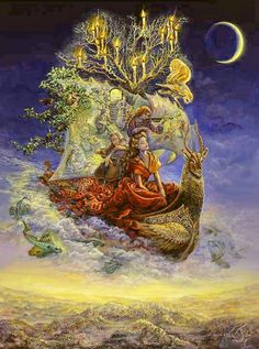 Ship of Dreams by Josephine Wall