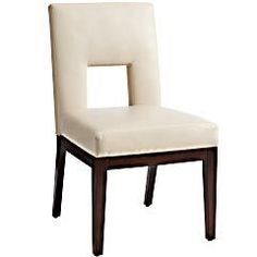 Bal Harbor Dining Chair - Ivory from Pier 1 - $140 dollars on sale - looking for…