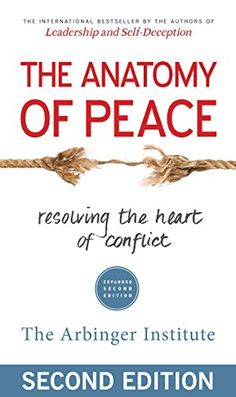 Sounds like an amazing book. The Anatomy of Peace: Resolving the Heart of Conflict by The Arbinger Institute http://www.amazon.com/dp/1626564310/ref=cm_sw_r_pi_dp_PJV1vb0V5TV78