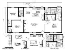 1456 Sq Ft Modular Home Floor Plan Noble Modular Home Style In Lincolnton Nc Modular Home Floor Plans Modular Homes Modular Floor Plans