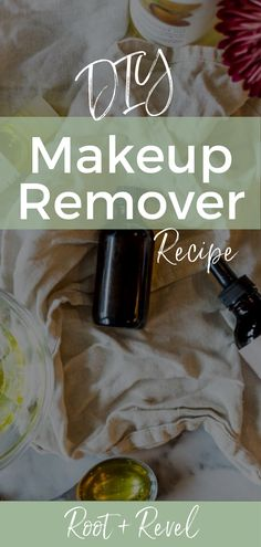 In less than 5 minutes and with just 4 natural ingredients, you can make this DIY homemade makeup remover that's safe, affordable and effective! Homemade Makeup Remover, Natural Makeup Remover, Best Natural Makeup, Clean Beauty, Diy Beauty, Beauty Makeup, All You Need Is, Diy Natural Beauty Recipes, Witch Hazel