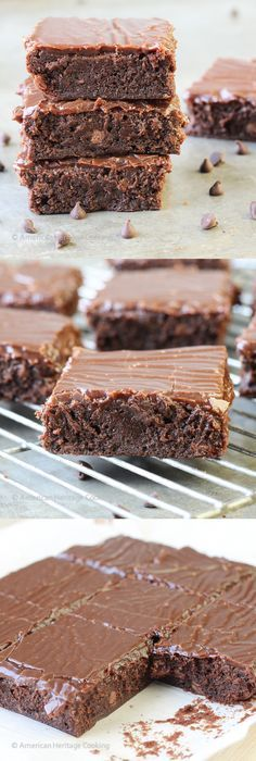 Milk Chocolate Brownie Explosion recipe with the most delicious, creamy milk Chocolate Ganache!!!!So incredibly fudgy!