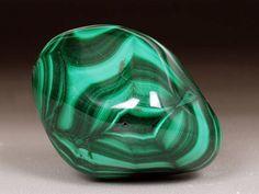 Malachite Tumbled Stone Malachite Crystal Malachite Tumbled
