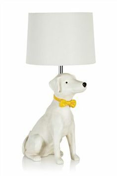 Buy Bow Tie Dog Lamp from the Next UK online shop