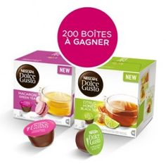 100 Lots de thés Nescafé Dolce Gusto à gagner