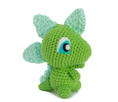 Dinosaur Toy - Custom Made Dinosaur - Choose Your Own Colors - Cute Crochet Dinosaur - Kawaii Dinosaur - Handmade Dinosaur Toy