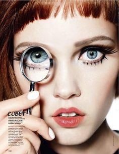 daria popova by walter chin for allure russia april 2013 | visual optimism; fashion editorials, shows, campaigns & more!