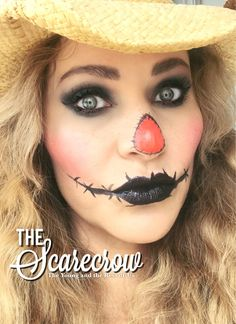 """The Young And The Rest Of Us has members. This is a """"Ladies Only"""" beauty group. Scarecrow Halloween Makeup, Halloween Makeup Looks, Halloween Make Up, Halloween Crafts, Halloween Costumes, Skull Makeup, Beauty Tutorials, Costume Ideas, Rest"""
