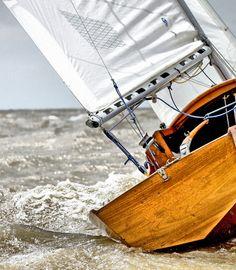 Sailing at the Río de la Plata, Buenos Aires, Argentina