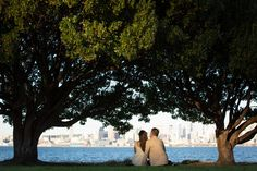 Seattle engagement session at Alki Beach Park - by Seattle based wedding photographer Nick Leung