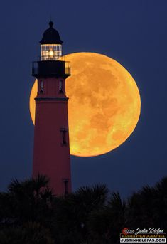 Coffeenuts — Supermoon of the century over Ponce Inlet...