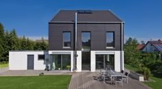 Haus on pinterest for Hausformen einfamilienhaus