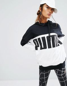 Find this Pin and more on Puma. Shop Puma Rebel Logo Pullover Hoodie at ...
