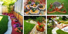 Ако все още не сте решили как да оформите вашата градина, тук ще ви предложим няколко варианта за цветни острови или лехи край оградата, които ще ви п