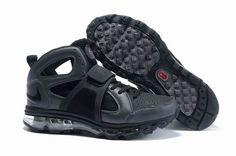 huge discount cba70 2c99c Danmark Billige Nike Air Max Huarache TR Mid Trainers Mænd - BlackGrey
