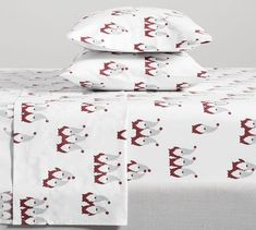 There's gnome place like home. The Gnome Print Organic Bedding an adorably whimsical way to add holiday cheer to any bed, from the kids' to your guest room. You can sleep better knowing it's crafted from organically grown cotton. Organic Cotton Sheets, Cotton Sheet Sets, Pottery Barn Christmas, Pottery Barn Kids, Christmas Bedding, Percale Sheets, Bed Sheets, Gnomes, Pillow Cases