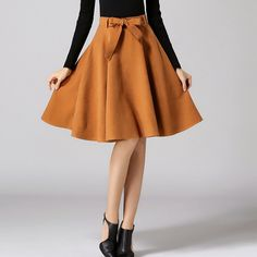 Autumn Winter Women Skirts Womens Midi High Waist Female Pleated Bow Skirt Elegant Office Lady saias-in Skirts from Women's Clothing & Accessories on Aliexpress.com | Alibaba Group