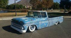 1961-1962-1963-1964-1965-1966-chevy-c10-chevrolet-c-10-patina-bagged-truck-3.jpg (640×351)