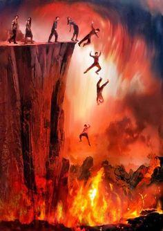 El lugar a donde van las almas de los pecadores, después de la muerte es el infierno, allí estarán estas almas en tormento, hasta la segunda resurrección, que es la resurrección de condenación, (Apocalipsis 20:5,6 - Juan 5:29) para después ser juzgados en el Juicio ante el Gran Trono Blanco Y posteriormente ser lanzados al Lago de Fuego y Azufre, que es un lugar distinto del infierno