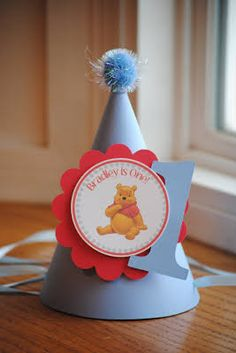 winnie the pooh party hats - Google Search