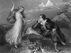 [Scene from Lord Byron's Childe Harold's Pilgrimage] by Robert Staines after Henry James Richter World's First Computer, Ada Lovelace, English Romantic, British Literature, Literature Books, Lord Byron, Ex Libris, Arts And Entertainment, Pilgrimage